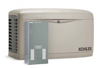 Kohler 14RESAL-100LC16 14,000-Watt Air-Cooled Standby Generator with 100 Amp/16-Circuit Automatic Transfer Switc